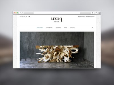 Web Tasarım Uzaq Home