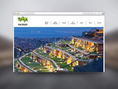 Web Tasarım Asma Bahçeler